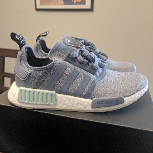 separation shoes c5eb3 273e6 Adidas NMD R1 raw steel boost running shoes sz 8 NWT